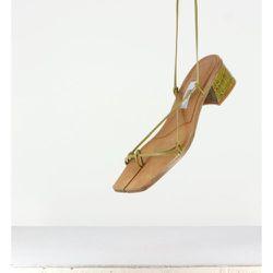 Cimarron Seaweed Croc Sandals - Miista - Modalova