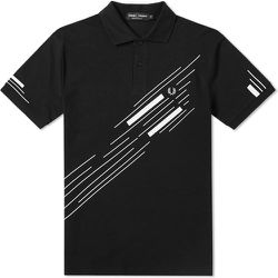 Abstract Graphic Pique Polo Shirt 3666-102 , , Taille: M - Fred Perry - Modalova