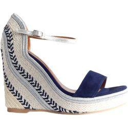 Sandaaltje met sleehak , , Taille: 37 - Philippe Model - Modalova