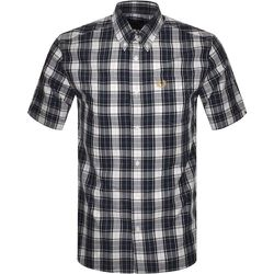 Authentic Button Down Short Sleeve Check Shirt , , Taille: L - Fred Perry - Modalova