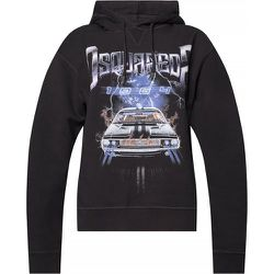 Printed hoodie , , Taille: 2XS - Dsquared2 - Modalova