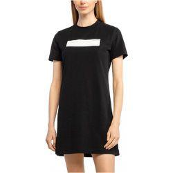 Robe t-shirt stretch à logo 3D , , Taille: M - Calvin Klein - Modalova