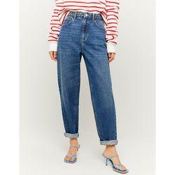 Jean Mom Taille Haute Bleu - Tw - Modalova