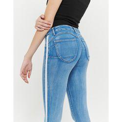 Jean Push Up Taille Haute Bleu - Tw - Modalova