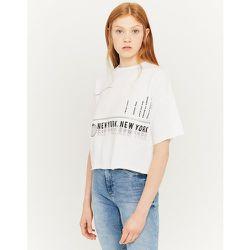 Sweat Blanc Slogan - Tw - Modalova