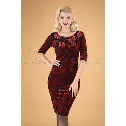 Deanna Floral Pencil Dress Années 50 en et - vintage chic for topvintage - Modalova