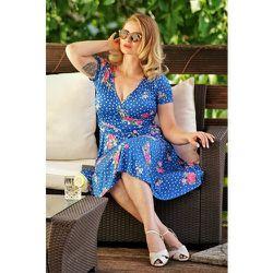 Frenna Floral Swing Dress Années 50 en Roi - vintage chic for topvintage - Modalova