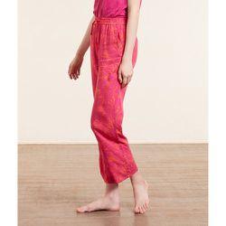Pantalon de pyjama 7/8è imprimé - Bessy - M - - Etam - Modalova