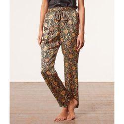 Pantalon de pyjama taille haute satiné - Kezia - S - - Etam - Modalova