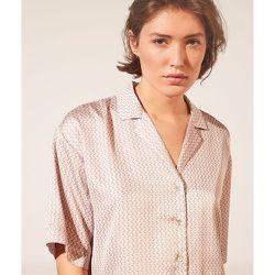 Chemise manches courtes satinée imprimée - Erina - XL - - Etam - Modalova