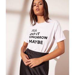 T-shirt manches courtes - Maybe - XS - - Etam - Modalova
