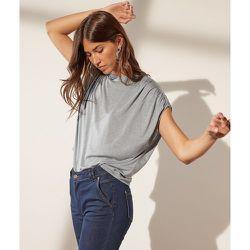 T-shirt manches amples à fils métallisés - Angeli - XS - - Etam - Modalova