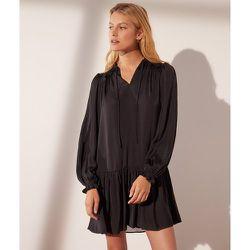 Robe courte satinée - Satina - 34 - - Etam - Modalova