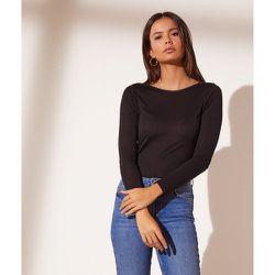 T-shirt manches longues col bateau - Bato - XS - - Etam - Modalova