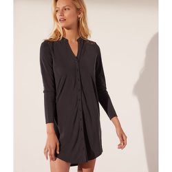 Robe chemise dos en dentelle - Alexine - S - - Etam - Modalova