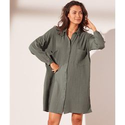 Robe chemise en gaze de coton - Martine - M - - Etam - Modalova