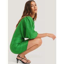 Robe Dos Ouvert - Green - Lizzy x NA-KD - Modalova