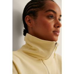 MANGO Sweatshirt Col Haut - Yellow - Mango - Modalova