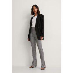 Pantalon À Carreaux - Grey - NA-KD Classic - Modalova