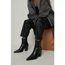 Bottines À Talons - Black - NA-KD Shoes - Modalova