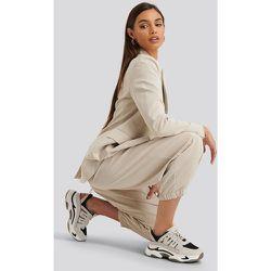 Cut Out Chunky Trainers - Beige - NA-KD Shoes - Modalova