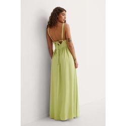Curated Styles Maxi Robe - Green - Curated Styles - Modalova