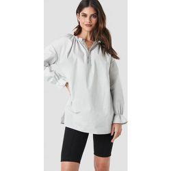 Gathered Neckline Tunic - Grey - NA-KD Trend - Modalova