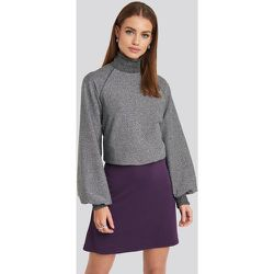 High Waist A-Line Skirt - Purple - NA-KD Party - Modalova