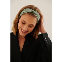 Bandeau avec noeud - Green - NA-KD Accessories - Modalova