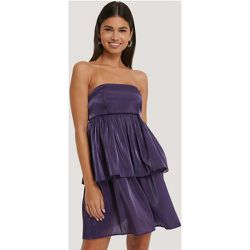 Mini Robe Épaules Dénudées - Purple - NA-KD Party - Modalova
