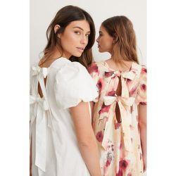 Maxi Robe Dos Ouvert - White - NA-KD Trend - Modalova