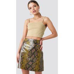 Snake Printed A Line Mini Skirt - Multicolor - NA-KD Trend - Modalova