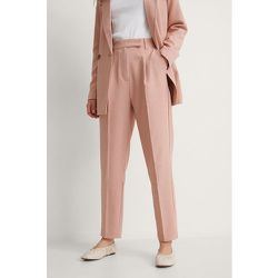 Recyclé Pantalon De Costume Court - Pink - NA-KD Classic - Modalova