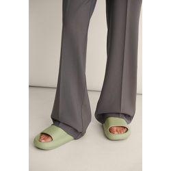 Chausson En Caoutchouc - Green - NA-KD Shoes - Modalova