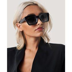 Square Frame Sunglasses - Black - NA-KD Accessories - Modalova