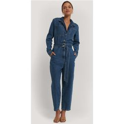 Combinaison Pantalon Jean À Ceinture - Blue - NA-KD Trend - Modalova