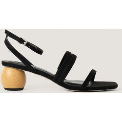 Sandale Talon Bas - Black - NA-KD Shoes - Modalova