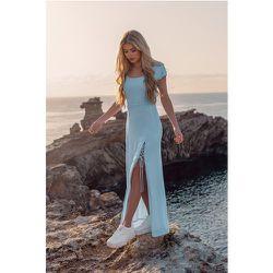 Recyclée Maxi Robe - Blue - Pamela x NA-KD Reborn - Modalova