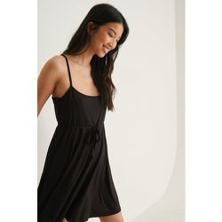 Robe Mini Nouée - Black - Pamela x NA-KD Reborn - Modalova