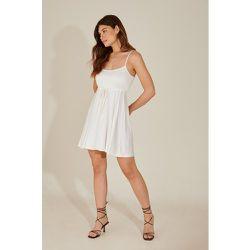 Robe Mini Nouée - White - Pamela x NA-KD Reborn - Modalova
