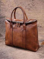 Sac pour ordinateur portable rétro multi-poches 15,6 pouces porte-documents sac à main d'affaires sac à bandoulière - Newchic - Modalova