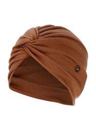 Chapeau élastique de chapeau de bonnet de chapeau élastique de couleur unie avec des boutons d'oreille - Newchic - Modalova