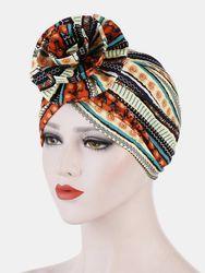 Chapeau foulard bonnet costume chapeau à capuche fleur - Newchic - Modalova