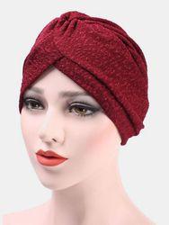 Bonnet de chimiothérapie Turban Casquette flexible Twist Floral Twist - Newchic - Modalova