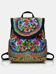Vintage brodé s sac à dos sac à main voyage ethnique sac à bandoulière - Socofy-1 - Modalova