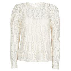 T-shirt Cream VIVI LS TSHIRT - Cream - Modalova