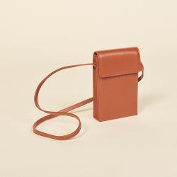 Leather shoulder bag - Sandro - Modalova