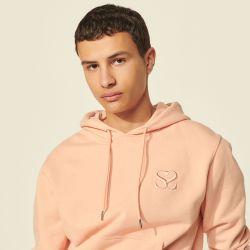 Embroidered hooded sweatshirt - Sandro - Modalova