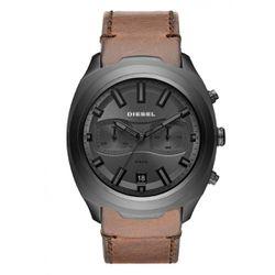 Montre DZ4491 - Montre Bracelet Cuir Marron Chronographe - Diesel Montres - Modalova