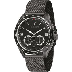 Montre TRAGUARDO R8873612031 - Montre Chronographe Acier Noir - Maserati - Modalova